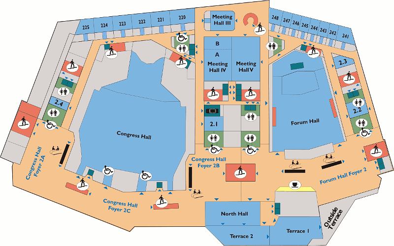 Prague Congress Center - Floorplan